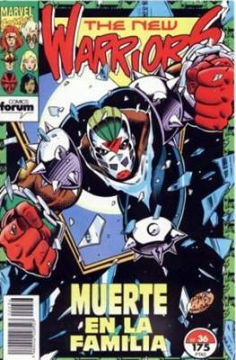 The New Warriors vol. 1 (1991-1995) (Grapa. 17x26. 24 páginas. Color. (1991-1995).) #36