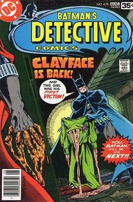 Detective Comics Vol. 1 (1937-2011; 2016-) (Comic Book) #478