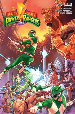Mighty Morphin Power Rangers (Comic Book) #13