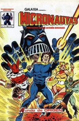 Micronautas (Grapa 40 pp) #1