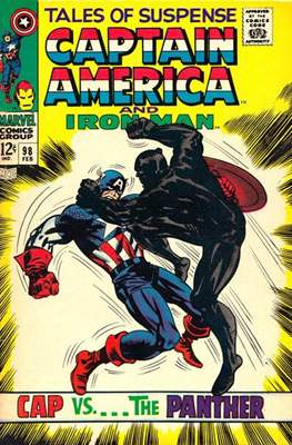 Tales of Suspense Vol. 1 (1959-1968; 2017-...) (Comic-book) #98