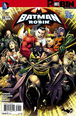 Batman and Robin Vol. 2 (2011-2015) (Comic Book) #33