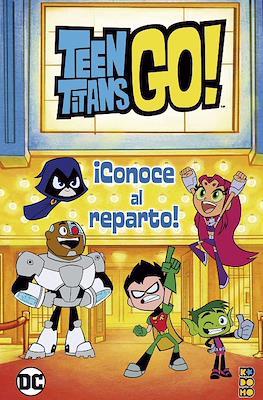 Teen Titans Go! ¡Conoce al reparto! (Cartoné 32 pp)