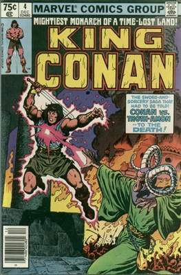King Conan/Conan the King (1980-1989) (Grapa, 48 págs.) #4