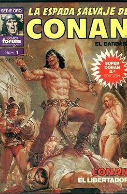 Super Conan. La Espada Salvaje de Conan (Cartoné. B/N. (1989). 2ª Edición.) #1