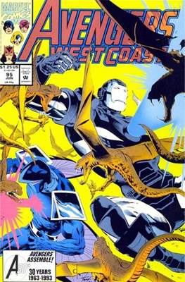 West Coast Avengers Vol. 2 (Comic-book. 1985 -1989) #95