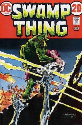 Swamp Thing (1972 1st Series) (Comic Book. 1972 - 1976) #3