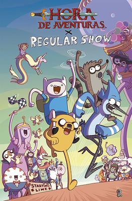 Hora de Aventuras x Regular Show (Rústica) #