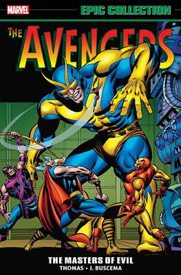 Avengers Epic Collection (Softcover) #3