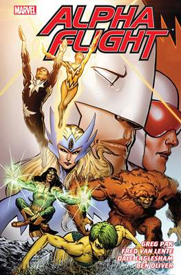 Alpha Flight by Greg Pak & Fred Van Lente