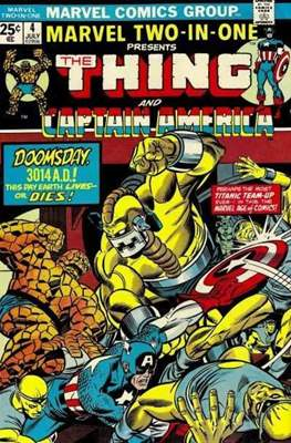 Marvel Two-in-One (Comic Book. 1974 - 1983) #4