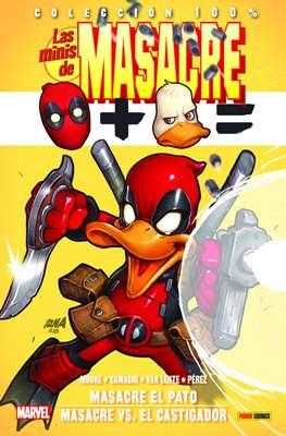 Las Minis de Masacre. 100% Marvel (Rústica con solapas) #10