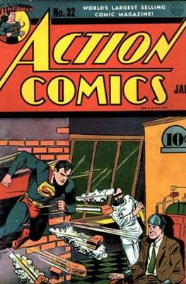 Action Comics Vol. 1 (1938-2011; 2016-) (Comic Book) #32