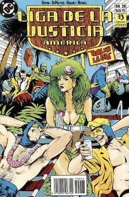 Liga de la Justicia / Liga de la Justicia internacional / Liga de la Justicia de America (1988-1992) (Grapa) #28