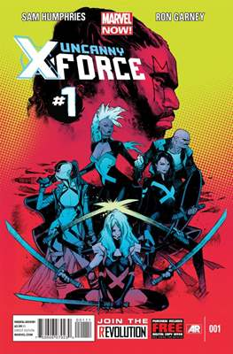 Uncanny X-Force Vol. 2 (Comic Book) #1