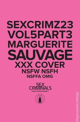 Sex Criminals (Variant Covers) (Grapa) #23
