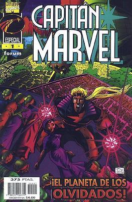 Capitán Marvel: El planeta de los olvidados
