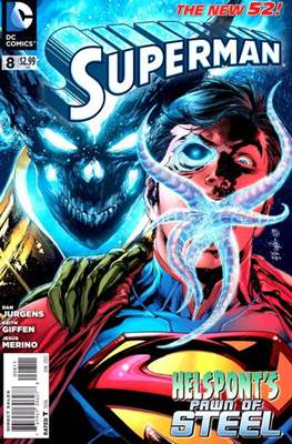 Superman Vol. 3 (2011-2016) #8