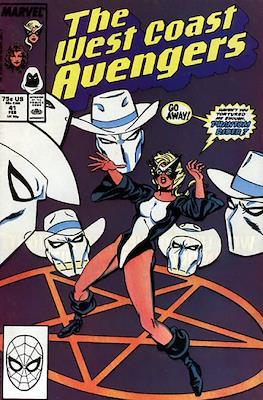 West Coast Avengers Vol. 2 (Comic-book. 1985 -1989) #41