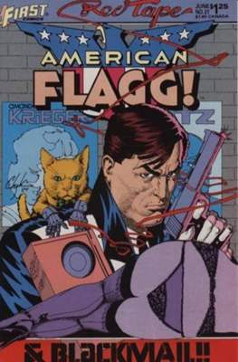 American Flagg! (Comic book) #21