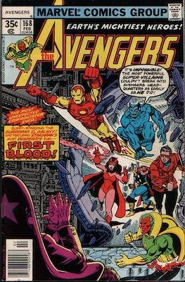 The Avengers Vol. 1 (1963-1996) (Grapa) #168