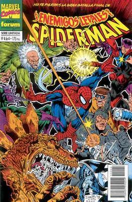 Los enemigos letales de Spiderman (Grapa. 17x26. 24 páginas. Color.) #4