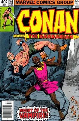 Conan The Barbarian (1970-1993) (Comic Book 32 pp) #103