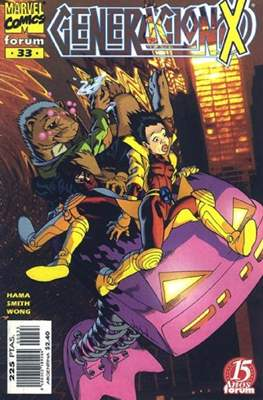 Generación-X Vol. 2 (1996-2000) (Grapa 24 pp) #33