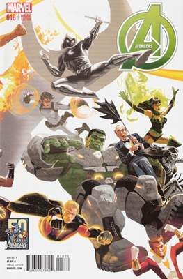 Avengers Vol. 5 (2013-2015 Variant Covers) (Comic Book) #18