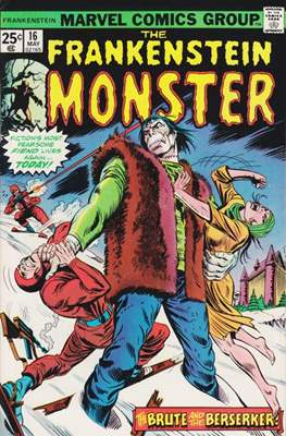 The Frankenstein monster (Grapa) #16