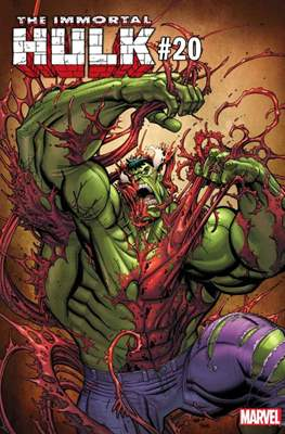 The Immortal Hulk (2018- Variant Cover) (Comic Book) #20