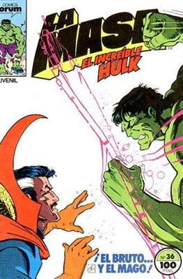 La Masa. El Increíble Hulk (Grapa 36-32 pp) #36