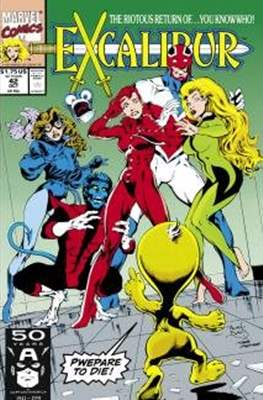 Excalibur Vol. 1 (Comic Book) #42