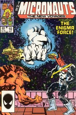 The Micronauts The New Voyages (Comic Book) #10