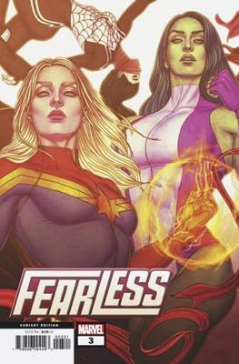 Fearless (2019- Variant Cover) #3