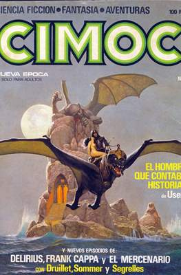 Cimoc (Grapa 60-132 pp) #4