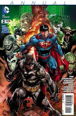 Batman / Superman Annual (2014-2015) (Grapa) #2
