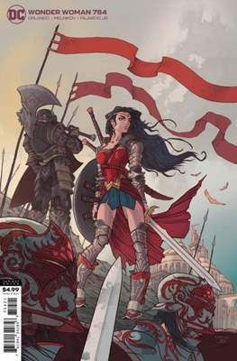 Wonder Woman Vol. 5 (2016- Variant Cover) (Comic Book) #754