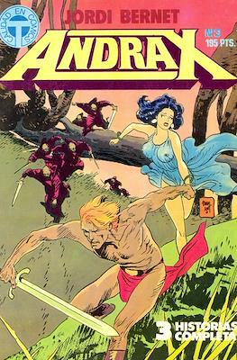 Andrax (Grapa 52 pp) #3