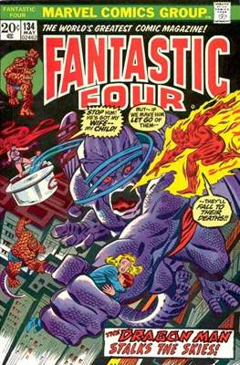 Fantastic Four Vol. 1 (1961-1996) (saddle-stitched) #134