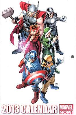 2013 Calendar Marvel Now