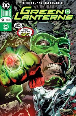 Green Lanterns Vol. 1 (2016-2018) (Comic-book) #54