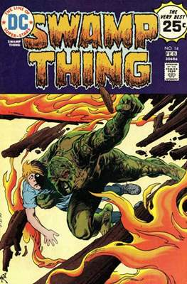 Swamp Thing (1972 1st Series) (Comic Book. 1972 - 1976) #14