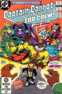 Captain Carrot and his amazing Zoo Crew #12