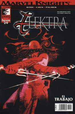 Elektra (2002-2004). Marvel Knights (Grapa 24 pp) #24