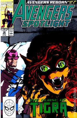 Solo Avengers / Avengers Spotlight (Comic book) #38