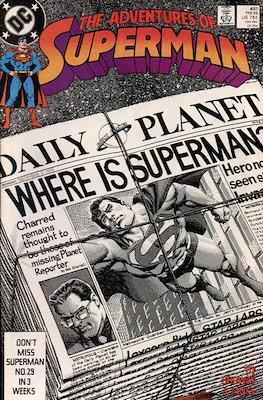 Superman Vol. 1 / Adventures of Superman Vol. 1 (1939-2011) (Comic Book) #451
