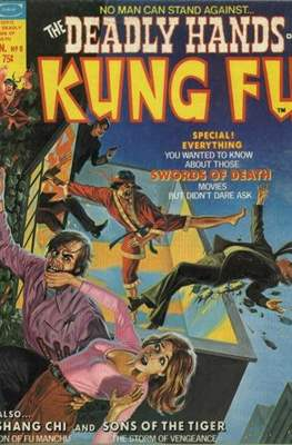 Deadly Hands of Kung Fu Vol 1 (Comic-Book b/w) #8