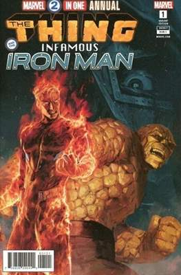 Marvel 2-in-One Annual (Vol. 2 Variant Cover)