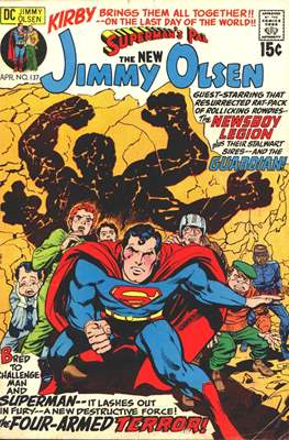 Superman's Pal, Jimmy Olsen / The Superman Family (Grapa,) #137